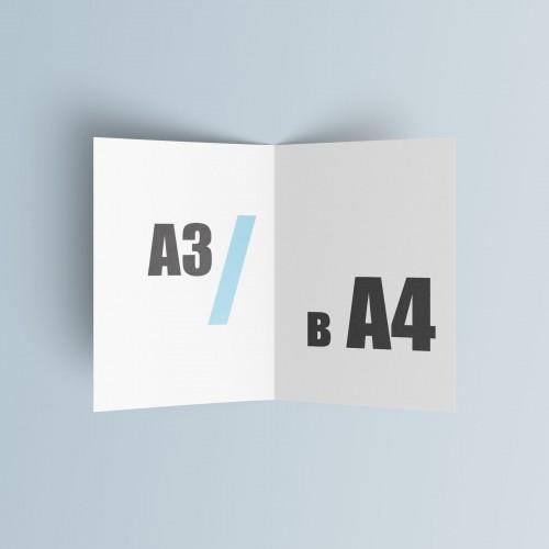 Буклет А4 (297*210 мм.)
