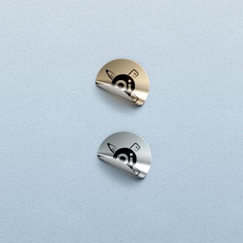 Этикетки на металлизированной пленке