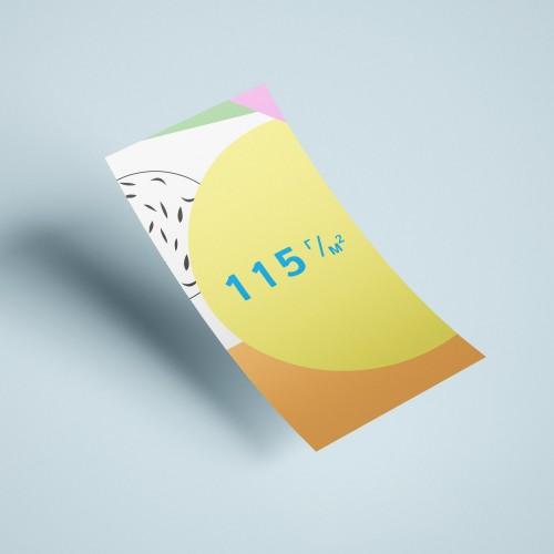 Флаеры на бумаге 115 г/м2