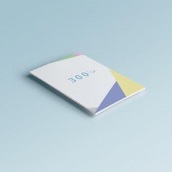 Листовки на бумаге 300 г/м2