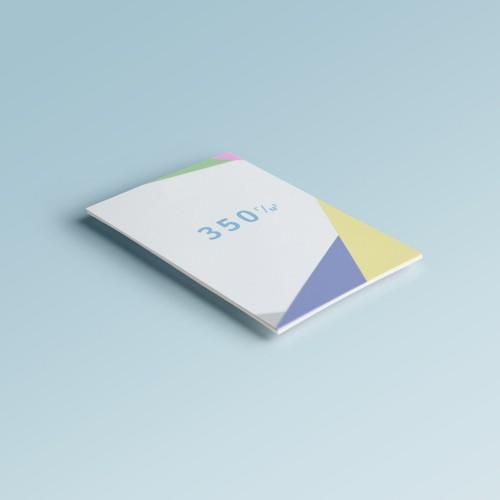 Листовки на бумаге 350 г/м2