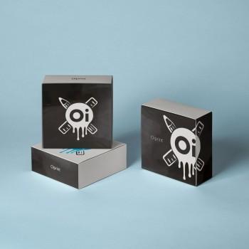 Коробка с глянцевой ламинацией