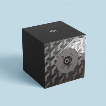 Коробка с выборочным лаком