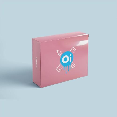 Коробка с защитным лаком
