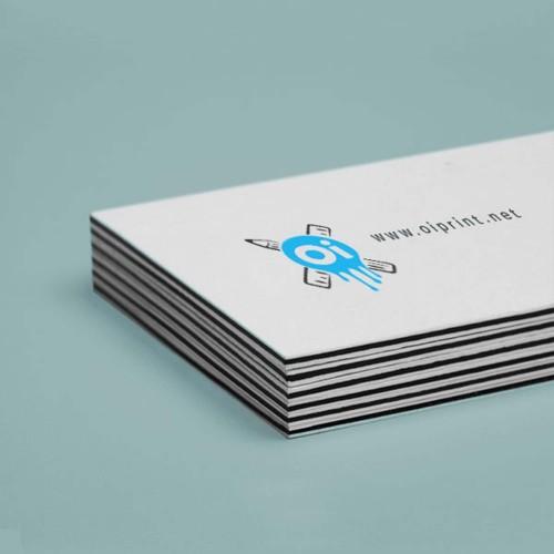 Кашированные визитки (кашировка 2-3-5 картонов)