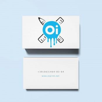 Двухстронние визитки